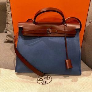 💎 RARE💎 Hermès Herbag Zip 31